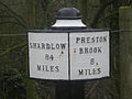 Milepost on Trent and Mersey - geograph.org.uk - 1722340.jpg