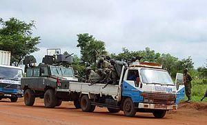 "Original caption states, ""A Ugandan milit..."