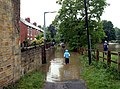 Mill Lane Flooded - geograph.org.uk - 469175.jpg