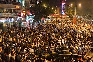 Millennial Anniversary of Hanoi - Anniversary celebration near the Hoan Kiem lake