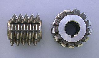 Hobbing Process used to cut teeth into gears