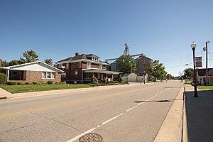 Milroy, Indiana - Image: Milroy, Indiana