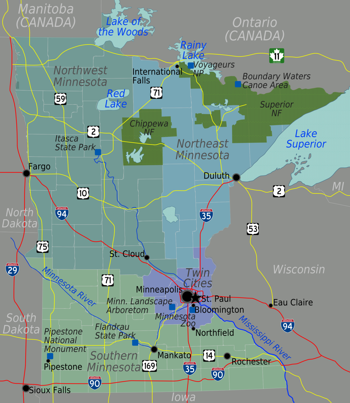 Minnesota Travel guide at Wikivoyage
