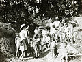 Miss Graham with village Sunday School, India, ca. 1906 (IMP-CSCNWW33-OS14-27).jpg