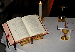 Book used for Catholic Liturgy