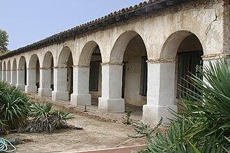 Mission San Miguel Arcángel - Image: Mission San Miguel Arches