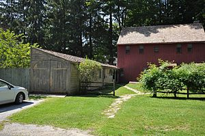 Mission House (Stockbridge, Massachusetts) - Outbuildings of the site behind the main house