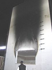 Mississippi mills nrc irc national fire laboratory facade test rig2