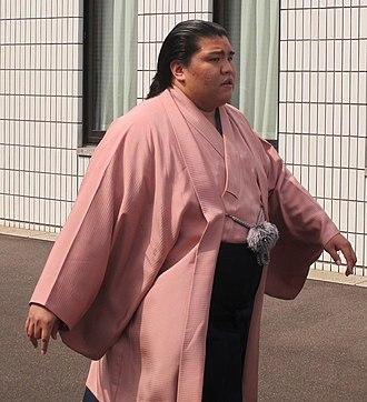 Mitakeumi Hisashi - Image: Mitakeumi Sep 2015