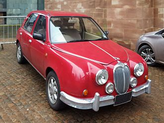 Jaguar Mark 2 - 1994 Mitsuoka Viewt, inspired by the design of the Jaguar MK2
