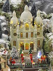 Decoration De Montmartre Pour Noel