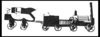 Modell der Rocket von Goethe