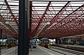 Modern steel station roof of Zaandam as a space truss construction to give maximum transparancy to the townhall - panoramio.jpg