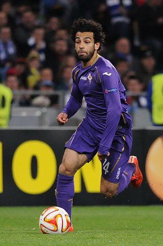 Mohamed Salah - Salah playing for Fiorentina in 2015