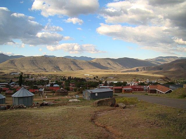 North from Maseru