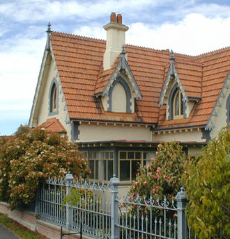 Mona Vale, Christchurch - The Mona Vale gate house in 2007