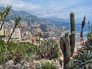 Jardin Exotique de Monaco botanical garden