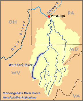 West Fork River  Wikipedia