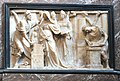 Mons St Waltrude Church Mary of Hungary altar piece 01.JPG