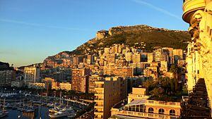 International University of Monaco - Monte Carlo, evening