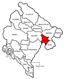 Andrijevica Municipality in مونٹینیگرو