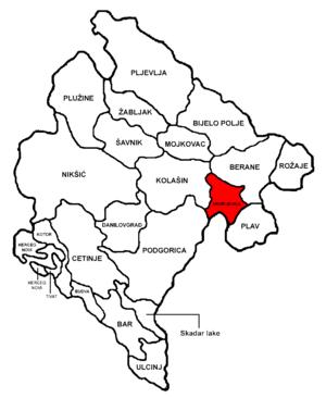 Andrijevica Municipality - Image: Montenegro Andrijevica
