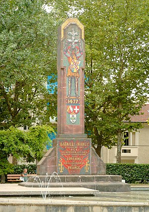 Monument commémoratif de la bataille de Nancy