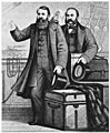 Moody and Sankey bid farewell to England from the deck of the Spain at Liverpool, 1875 (Hold the Fort!, Scheips).jpg