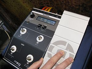 Moog synthesizer - MP-201 Multi-Pedal (2007)