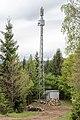 Moosburg Sankt Peter Luschenweg Telekom-Relaisstation mit Sendemast 03052017 8116.jpg