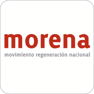 National Regeneration Movement - Image: Morena Party (Mexico)