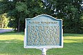 Morris Homestead historical marker, 13925 Huron River Drive South, Romulus, Michigan - panoramio.jpg