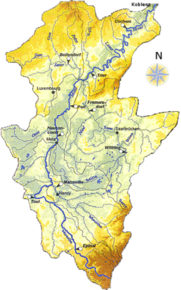 kart over moseldalen Mosel – Wikipedia kart over moseldalen