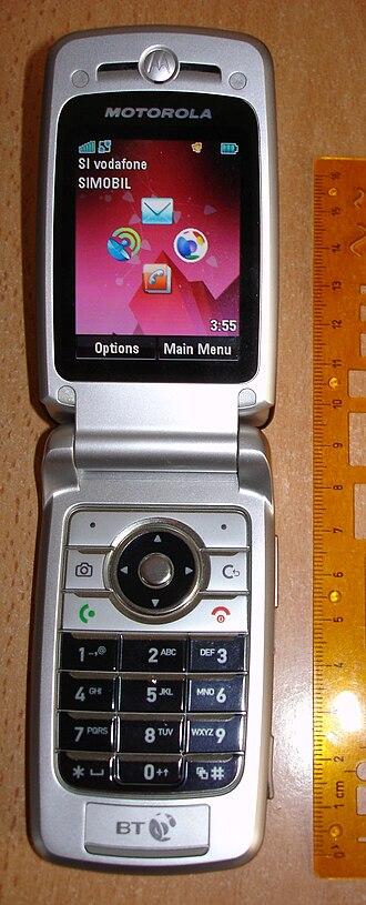 Motorola A910 - Motorola A910 opened