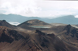 Das Tongariro-Massiv im Ruapehu District