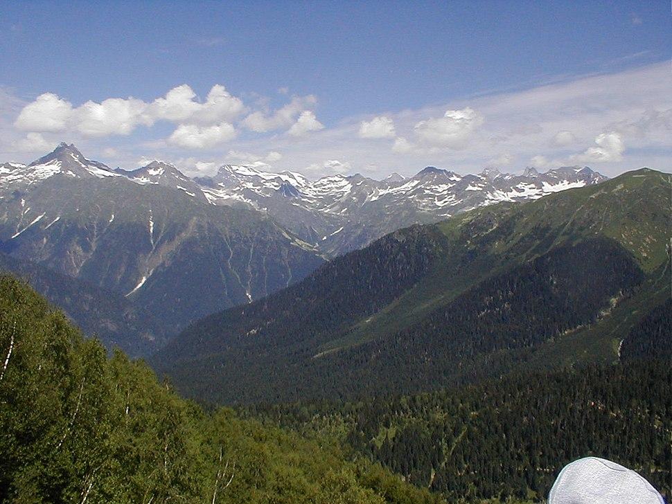 Mountains in Svaneti (1)
