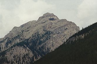Palliser Range - Mount Aylmer, August 1994