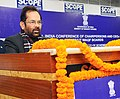 Mukhtar Abbas Naqvi addressing the All India Conference of Chairpersons and Chief Executive Officers of StateUT Waqf Board, in New Delhi.jpg