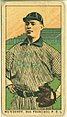 Mundorff, San Francisco Team, baseball card portrait LCCN2008677339.jpg
