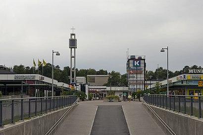Munkkivuoren Ostoskeskusへの交通機関を使った移動方法