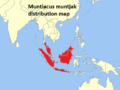 Muntiacus muntjak distribution map.png