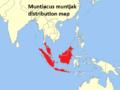 Muntiacus muntjak distribution map.png