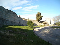 Roman wall at Olèrdola