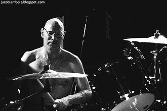 Murph (drummer) - Murphy at The Great Northern With Dinosaur Jr. 2010