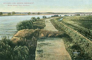 Murray Bridge, South Australia - Image: Murray Bridge in 1912
