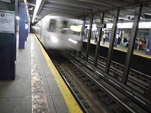 2014 killings of NYPD officers - The Myrtle–Willoughby Avenues subway station, where Brinsley killed himself after fatally shooting two NYPD officers