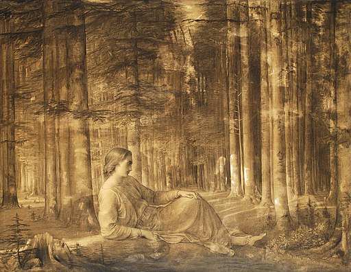 N07-115 Louis-Janmot solitude