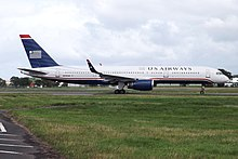 N205UW Boeing 757 US Airways (9548289075).jpg