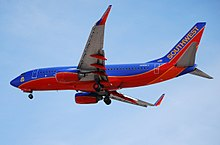 N289CT Southwest Airlines 2007 Boeing 737-7H4 (cn 36633-2354) (4670465809).jpg