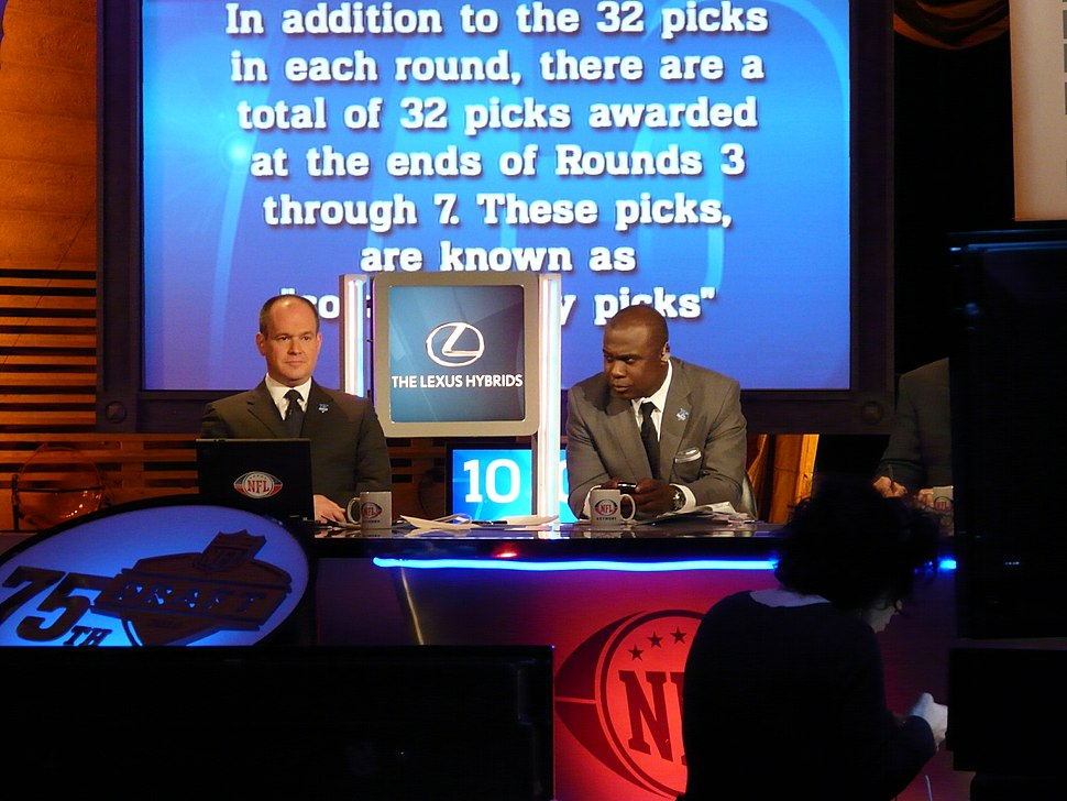 NFL Draft 2010 NFL Network set Rich Eisen and Marshall Faulk